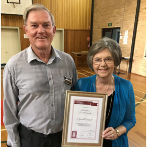 Life Membership for Musical Director